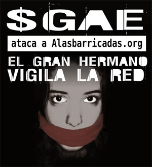 SGAE ataca alabarricadas.org